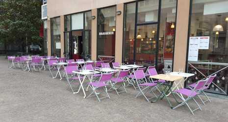 Restaurant brasserie tendance d 39 europe lyon 6 me r servation reduction 1 repas offert for Deco lounge bar restaurant