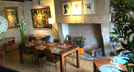 1 repas offert au restaurant comme la maison tours for A la maison restaurant