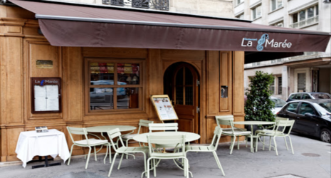 1 repas offert au restaurant la mar e paris 8 me for Restaurant cuisine francaise paris