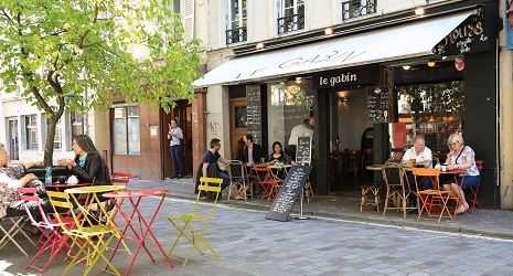 Restaurant Le Gabin Rue Custine
