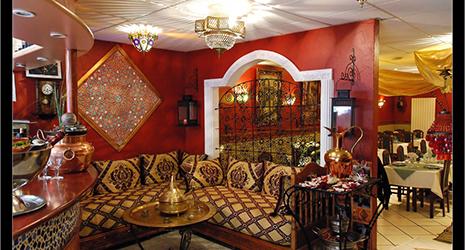 B timent brique decoration restaurant marocain for Salon du batiment maroc