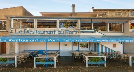 1 repas offert au restaurant le restaurant du port saint - Restaurant du port st pierre de boeuf ...