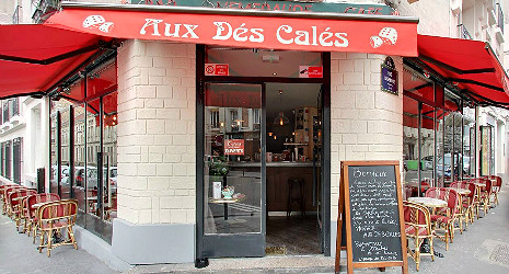 a free meal at the restaurant aux d s cal s thanks to the card restopolitan. Black Bedroom Furniture Sets. Home Design Ideas