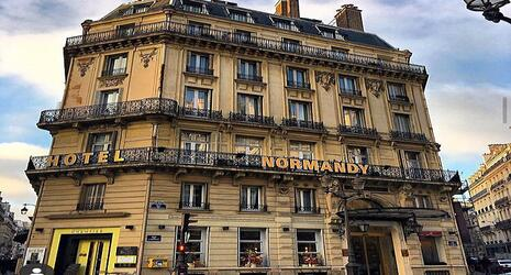 Bar du Normandy - Le chantier