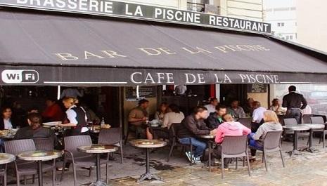 1 repas offert au restaurant caf de la piscine paris for Bar la piscine paris 18