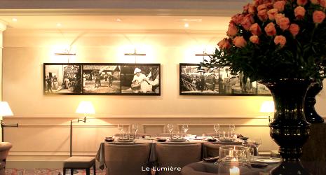 Le Lumière -  L'Obscur Hôtel Scribe Paris