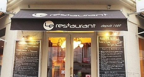 A free meal at the restaurant le restaurant montmartre for Miroir restaurant montmartre