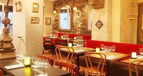 1 repas offert au restaurant le restaurant montmartre for Le miroir restaurant montmartre