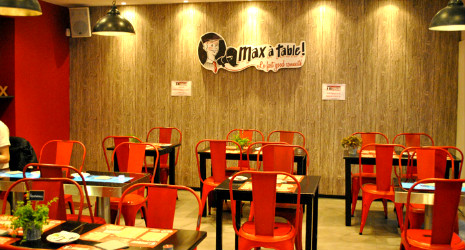 Max à Table