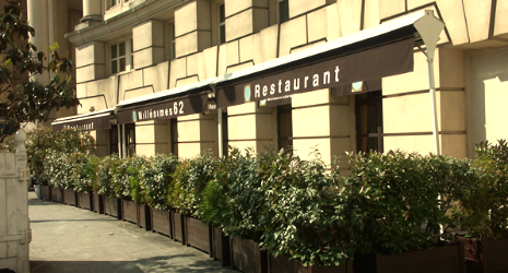 Millesimes 62 restaurant paris