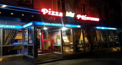 Pizza Princesse